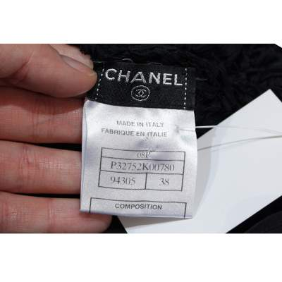 Black lace crochet Dress-11