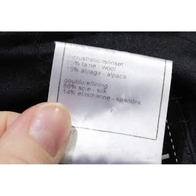 Black and white tweed Jacket-9