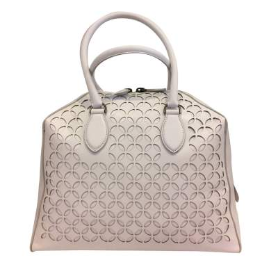 White leather Bag-1
