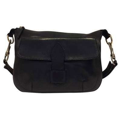 Black leather Bag-0