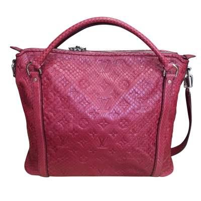 Raspberry python Handbag-1