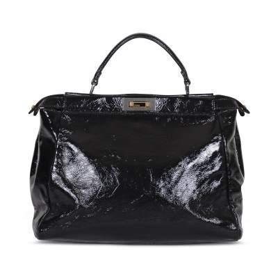 Peekaboo patent leather Bag -3
