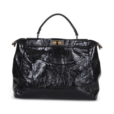 Peekaboo patent leather Bag -0