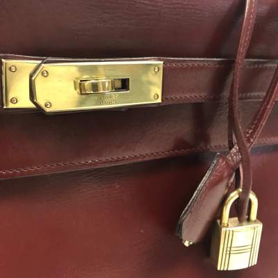 Vintage Kelly 32 in burgundy-7