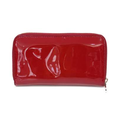 Red leather Wallet-3