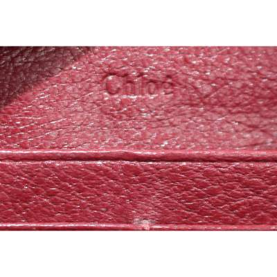 Red leather Wallet-9