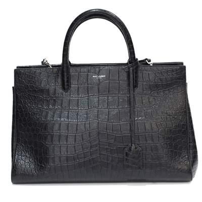 Leather croco Bag-0