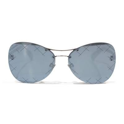 Silver mirror Sunglasses-0