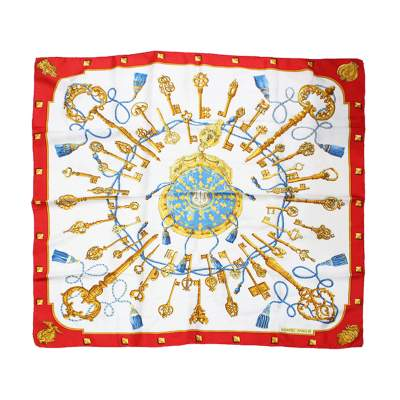 Keys silk Scarf-0