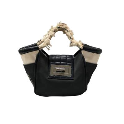 Small black tote Bag -1