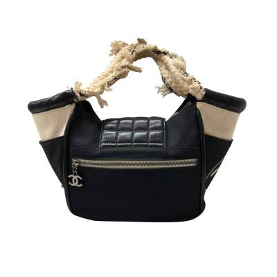 Small black tote Bag -3