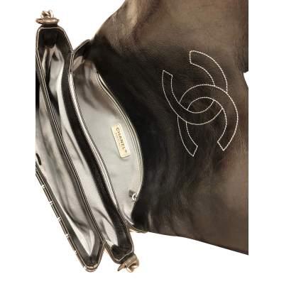 Leather flap Bag-11