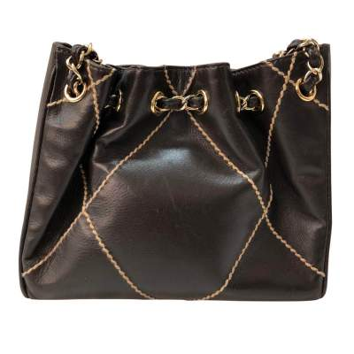 Small brown leather Bag-3