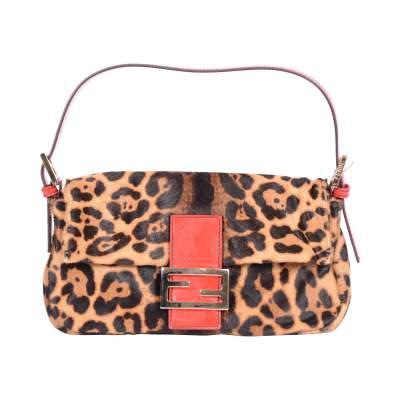 Baguette leopard printed Bag -1