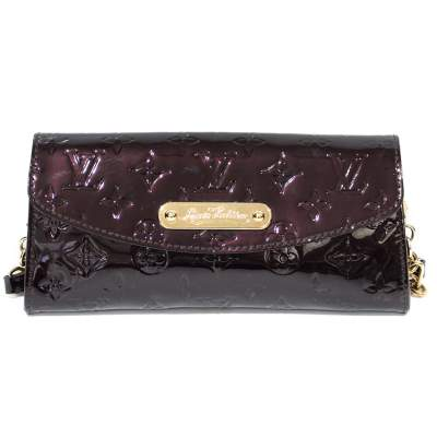 Amarante bordeaux Clutch-0