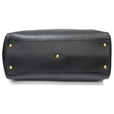 Peekaboo black leather Bag-7