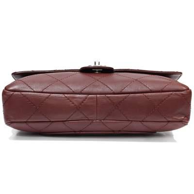 Jumbo leather bordeaux Bag-5