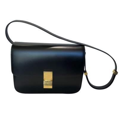 Black leather Bag-1