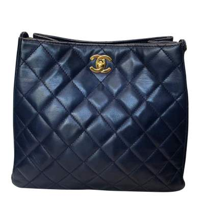 Quilted leather Bag-1