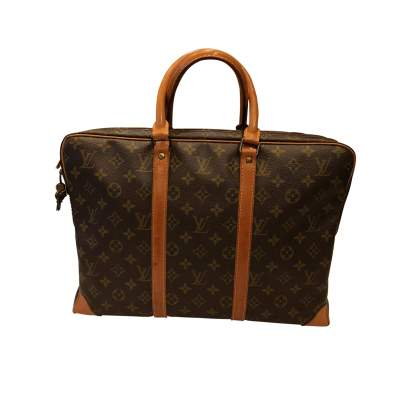 Monogram canvas Briefcase-3