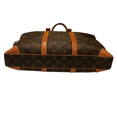 Monogram canvas Briefcase-9