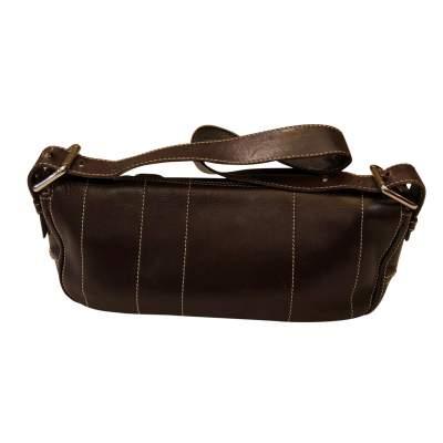 Brown leather Bag-3