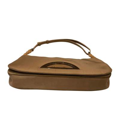 Beige canvas Handbag-7