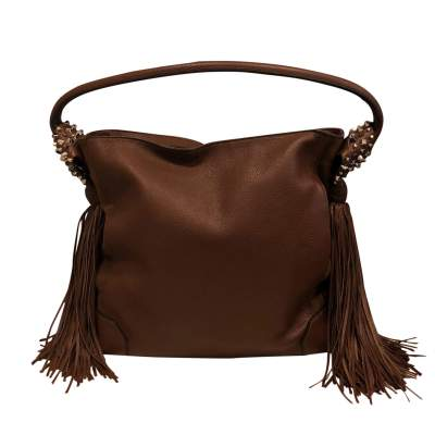 Leather and suede Bag-3