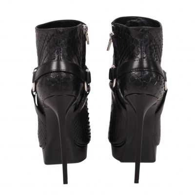 Python ankle Boots -3