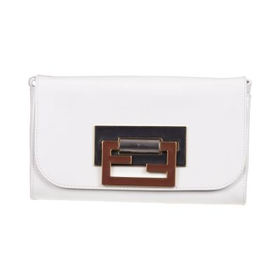Patent leather clutch -1