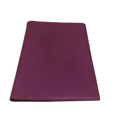 Purple leather agenda Cover-0