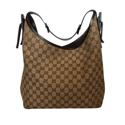 Canvas monogram leather Bag-0