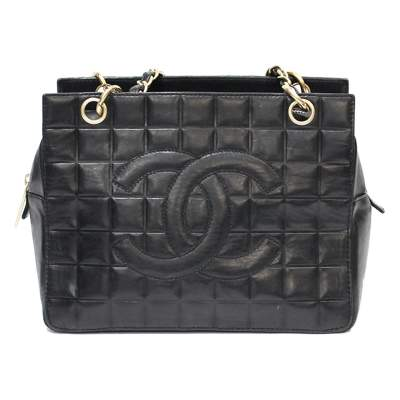 Mini black leather Bag-0