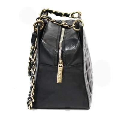 Mini black leather Bag-5