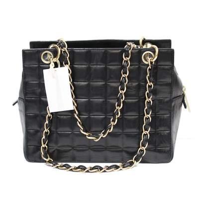 Mini black leather Bag-3