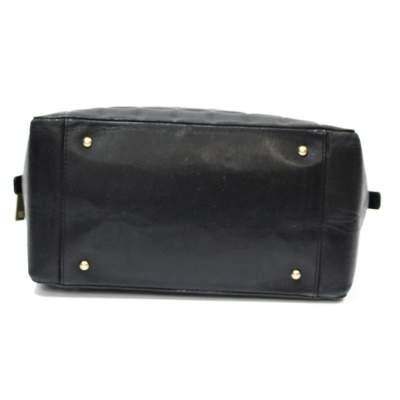 Mini black leather Bag-7