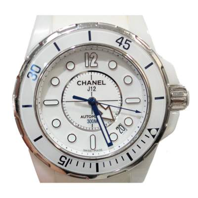 White J12 Watch -1