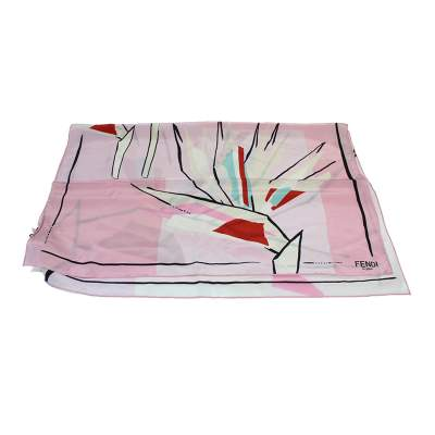Flower print Scarf-0