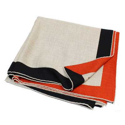 Cashmere and silk Scarf-0