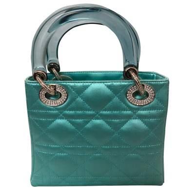 Lady Dior satin mini Bag-3