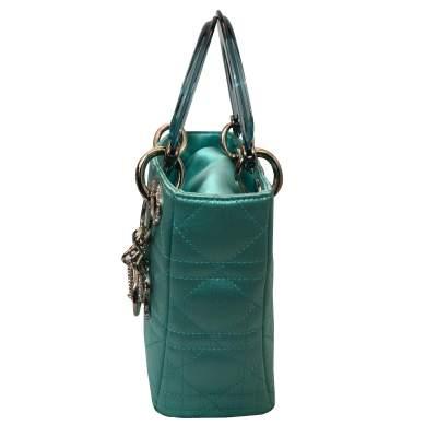 Lady Dior satin mini Bag-5