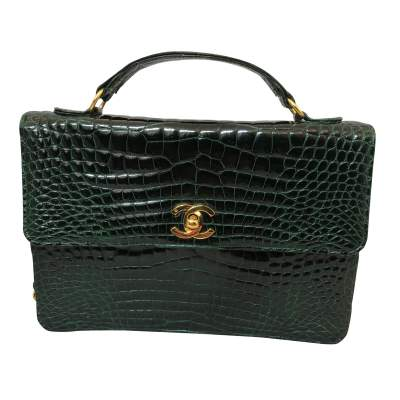 Vintage Crocodile Bag-1
