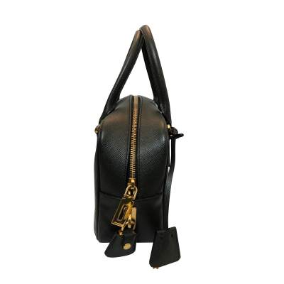 Green leather Bag-5
