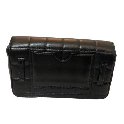 Quilted leather Clutch-3