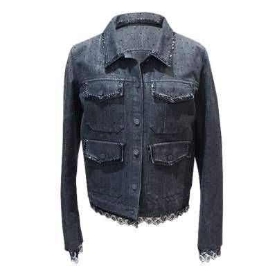 Black jean Jacket -0