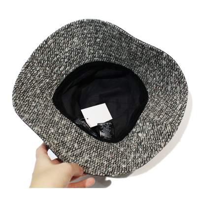 Capeline tweed Hat-7