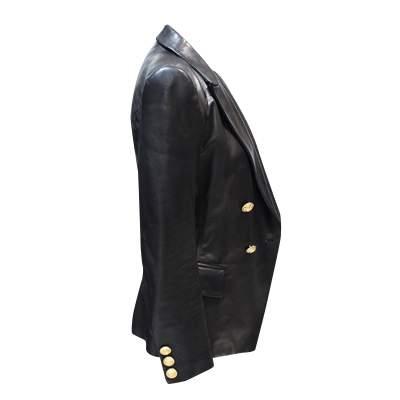 Black leather Jacket-7