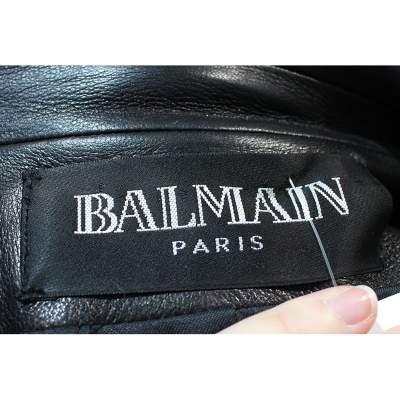 Black leather Jacket-9
