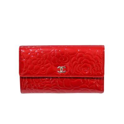 Red leather Wallet-1