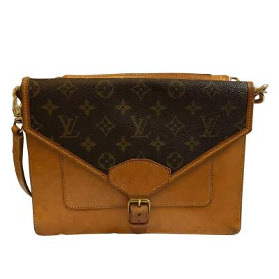 Vintage double shoulder Bag-0